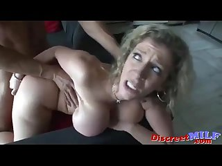 Big boobs milf gets it hard and rough