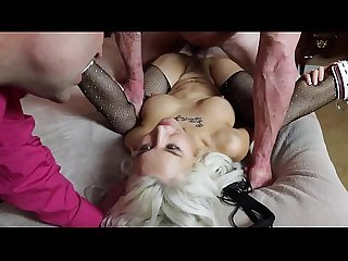 Sandra Luberc in a Bedtime Romp from the Father Son Slut Part 2 video