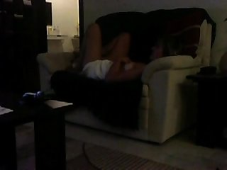 Sofa masturbation mom caught on voyeur cam