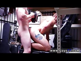 Big dick gay sex moving images Dungeon master with a gimp