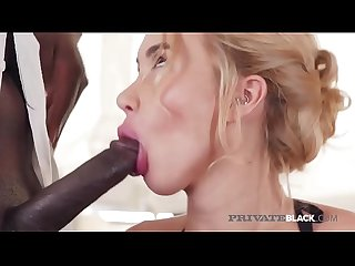 Private Black - Katrin Tequila Ass Fucked By Big Black Cock!