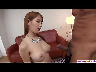 Nami Itoshino swallows cum after a good Asian fuck - More at Slurpjp.com