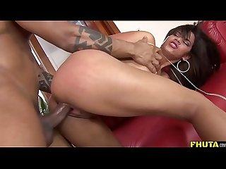Brazilian babe anal pleasures
