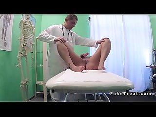 Sex toys addicted patient fucking