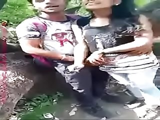 Indian Lovers Public Boobs & Pussy Fondled