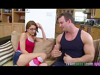InnocentHigh Nerd smalltits teen Lexi Bloom fucked