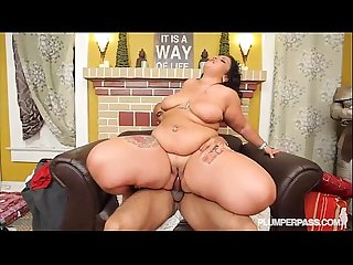 Sexy BBW Diana Nicole Gets Her Huge Ass Fucked