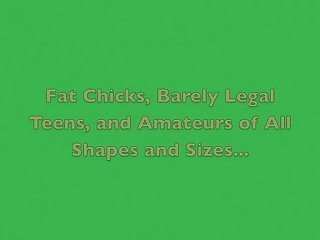 Amateur Maniacs Trailer #2: Fat Chicks