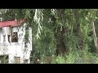 Twink fox gets searched by a patrolman