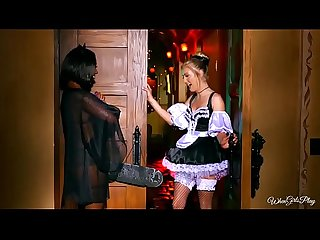 Twistys.com - Naughty halloween games xxx scene with Chanell Heart, Karla Kush 1