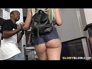 Assh Lee Prepares For Anal With Black Dick - Gloryhole