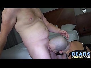 Hairy daddies Jake O'Connor and Jean Paul have anal sex