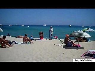 Beach masturbating