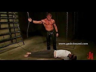 Bondage sex with gay slave tortur