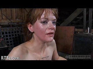 Anal punishment with shit squirting