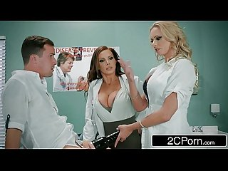 Dick stuck in Fleshlight doctors briana banks Nikki benz give hand