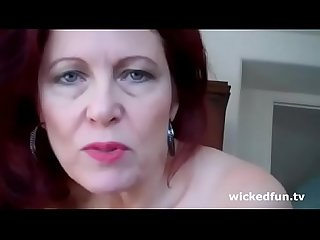 Mother dominate her son on wickedfun tv
