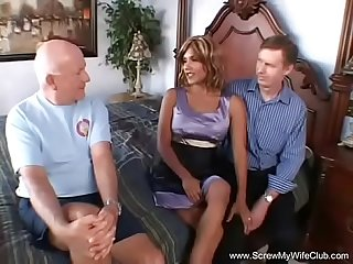 Latina Swinger Anal Threesome