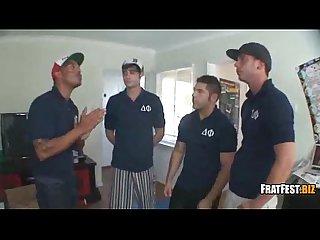 Frat fest members blowjob