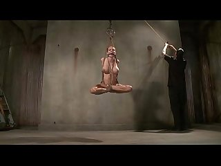 Tied bdsm bondage bitch caned