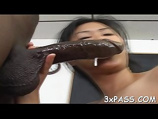 Ebony man bangs white angel