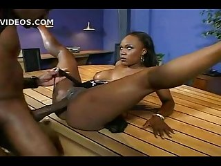 Ebony vida valentine takes Mandingo huge dick