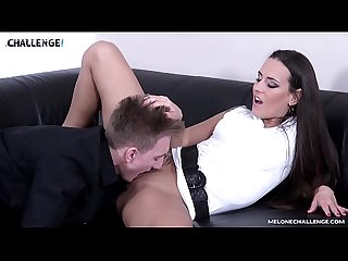 Sexy Female Agent Will be Dissapointed After Soft Sex