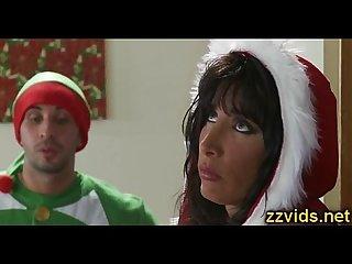 Horny lezley zen christmas hot fuck