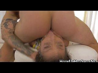 Real sluts face fucked