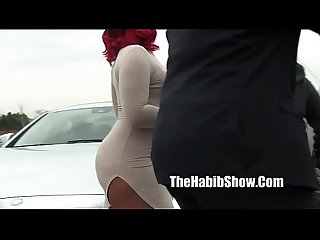 phatt booty thick red fucked by jovan jordan outdoor fuckfest