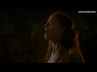Rose leslie red head topless perky boobs bare butt game of thrones s03e05 2013