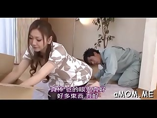 Japanese milf enjoys one eyed monster in both holes during hot xxx