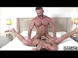 Sexy butt hunks dirk caber and nicoli Cole cannot get enough of each others ass