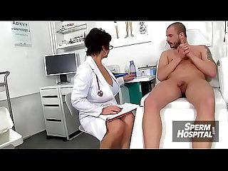 Eva a czech big natural tits doctor lady