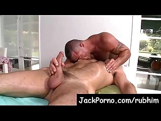 Gay massage with happy ending rub him Video15