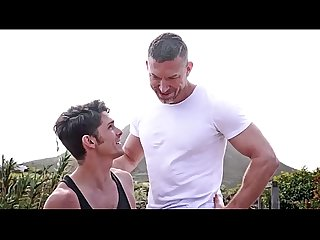 Ripped dad fuck his son tomas brand and devin franco
