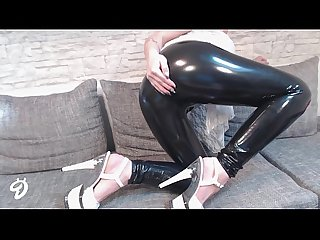 Neues video latex hose