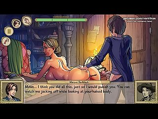 Fucking a hot milf witch teacher with her wand in her gorgeous ass and pussy l My sexiest gameplay..