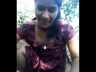 Desi girl very nice sucking n fucking in forest hornyslutcams com